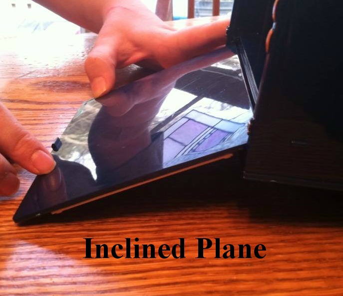 a study of the characteristics of the inclined plane The inclined plane is a very simple machine that offers a mechanical advantage although the force needed to raise the object is reduced, the force needs to move through a longer distance.