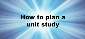 Adventures in Mindful Living- how to plan a unit study