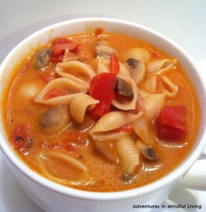 lasagna soup- @Adventures in Mindful Living