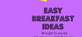 Are you tired of having to always grab that box of cereal? Then try out some of these easy breakfast ideas that you and the kids will like! Come check it out or pin for later!