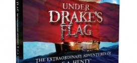 Under Drake's Flag, and audio theatre amazing audiobook for children 6- adult with study guide. (Review)