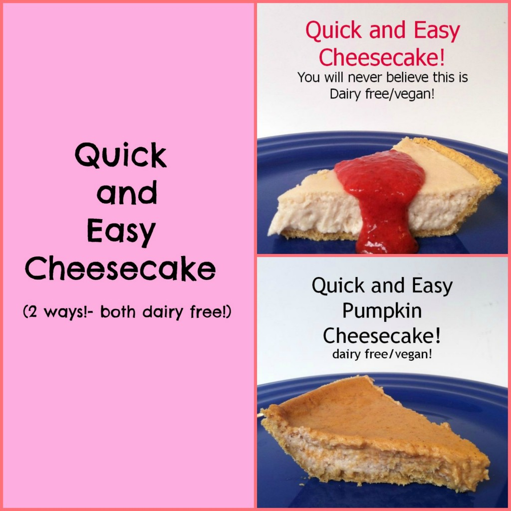 how to make a quick cheesecake