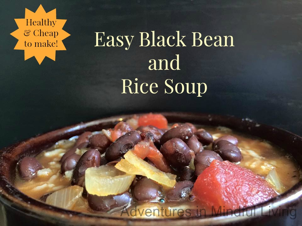 Are you looking for an Easy Black Bean and Rice Soup recipe? Come ...