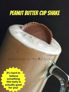 Peanut Butter Cup Shake! It is hard to believe something this good can help you lose weight and feel great!!