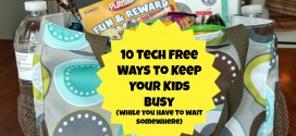 10 Tech Free and Budget Friendly Ways to Keep Your Kids Busy (While You Have to Wait)
