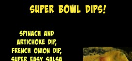Healthier Versions of your Favorite Super Bowl Dips