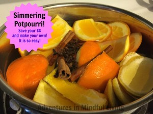 Simmering Potpourri- Save your $$ and come learn how easy it ti sot make your homes smell better naturally!