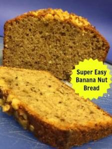 Super Easy Banana Nut Bread!