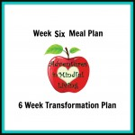 Week 6 Meal Plan with the 6 Week Transformation program! Healthy can be easy and tasty!