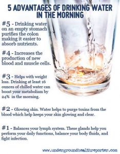 One Simple Change can really add up to big changes in your overall health! This week we talk about drinking more water!