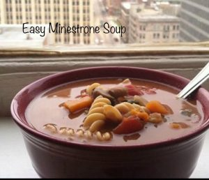 Easy Minestrone Soup Recipe - so easy to tweak to what you like and have on hand. Super easy and loaded with goodness!